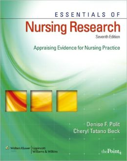 ESSENTIALS OF NURSING RESEARCH METHODS