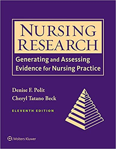 NURSING RESEARCH : PRINCIPLES & METHODS