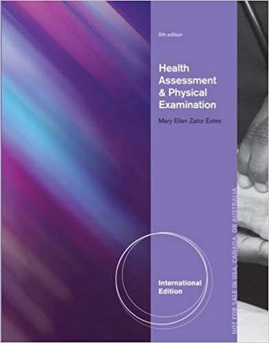 HEALTH ASSESSMENT AND PHYSICAL EXAMINATION: CLINICAL COMP...