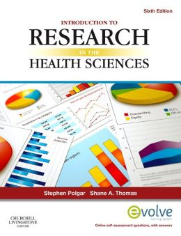 INTRODUCTION TO RESEARCH IN HEALTH SCIENCES