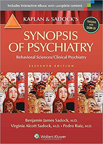 SYNOPSIS OF PSYCHIATRY: BEHAVIOURAL SCIENCES...