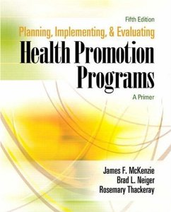 PLANNING IMPLEMENTING & EVALUATING HP PROGRAMS