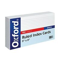 INDEX CARDS - 8X5