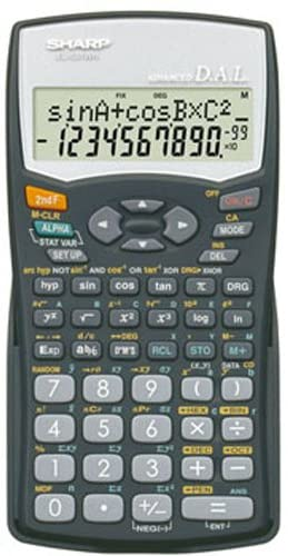 SHARP EL-531LB CALCULATOR