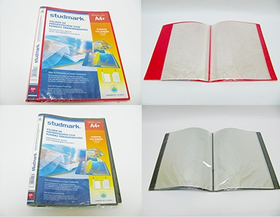 STUDMARK A4 20 POCKET DISPLAY BOOK