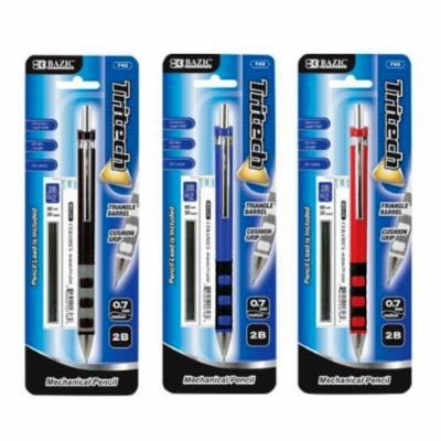 BAZIC TRITECH .7 MECHANICAL PENCIL WITH REFILLS