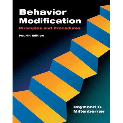 BEHAVIOR MODIFICATION: PRINCIPLES & PROCEDURES