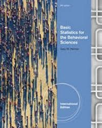 BASIC STATISTICS FOR THE BEHAVIOURAL SCIENCES