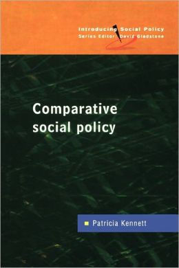 COMPARATIVE SOCIAL POLICY