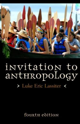 (PBK) INVITATION TO ANTHROPOLOGY
