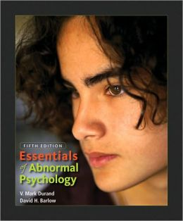 ESSENTIALS OF ABNORMAL PSYCHOLOGY ( WITH CD ROM)