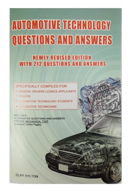 AUTOMOTIVE TECHNOLOGY QUESTIONS AND ANSWERS