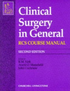 CLINICAL SURGERY IN GENERAL RCS COURSE