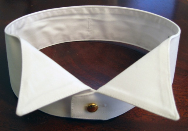 "WINDSOR WING FUSED COLLAR (15"" TO 19"")"