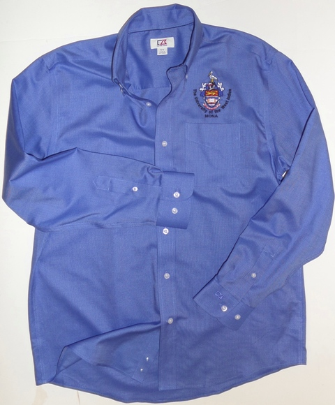 L/S EPIC EASY CARE NAILSHEAD SHIRT ( CUTTER & BUCK )