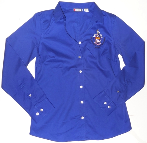 L/S AVESTA LADY STAIN RESISTANT TWILL SHIRT ( CUTTER & BUCK)