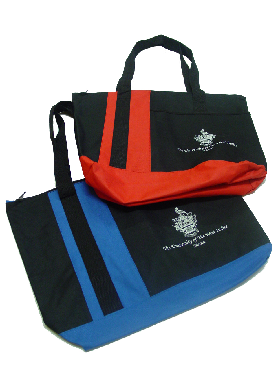 UWI TRI BAND TOTE BAG