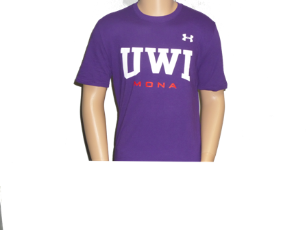 UWI PERFORMANCE COTTON SS TEE