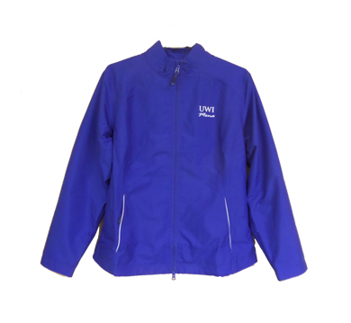 UWI FEMALE BEACON FULL ZIP JACKET