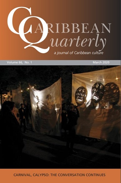 VOL. 66 #1: CARIBBEAN QUARTERLY (MARCH 2020)