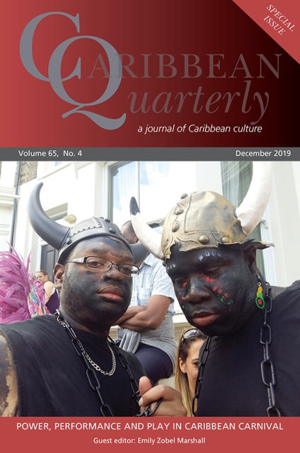 VOL 65 #4, CARIBBEAN QUARTERLY