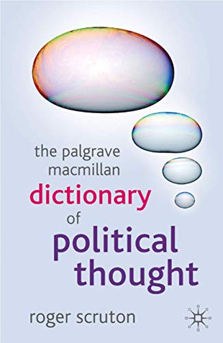 DICTIONARY OF POLITICAL THOUGHT