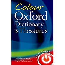 THE OXFORD COLOUR DICTIONARY, THESAURUS & WORDPOWER
