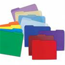 COLOURED L/S FILE FOLDER (SINGLES)