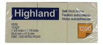 STUDMARK / POST IT NOTEPAD 1.5 X 2 IN