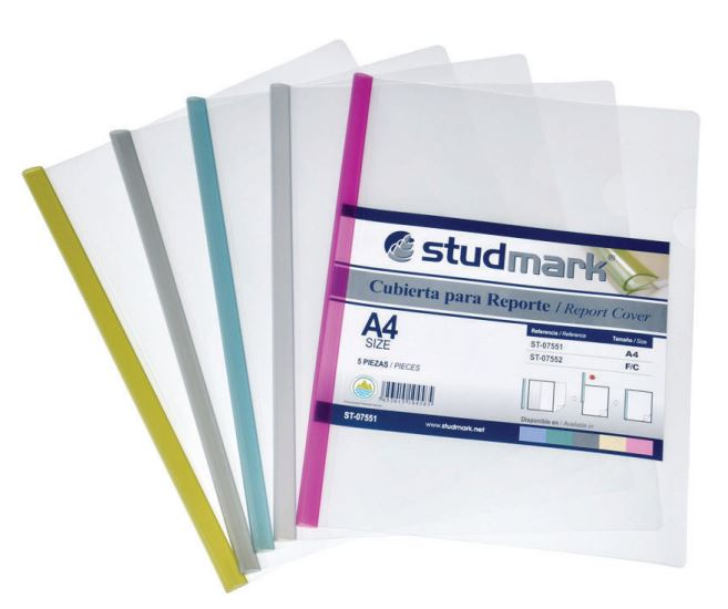 STUDMARK A4 REPORT COVERS