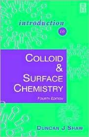 INTRODUCTION TO COLLOIDS & SURFACE CHEMISTRY