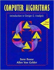 COMPUTER ALGORITHMS: INTRO. TO DESIGNS & ANALYSIS