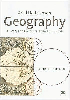 GEOGRAPHY ITS HISTORY AND CONCEPTS