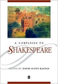 A COMPANION TO SHAKESPEARE