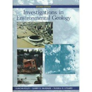 INVESTIGATIONS IN ENVIRONMENT GEOLOGY