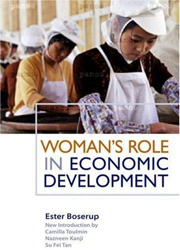 WOMEN'S ROLE IN ECONOMIC DEVELOPMENT