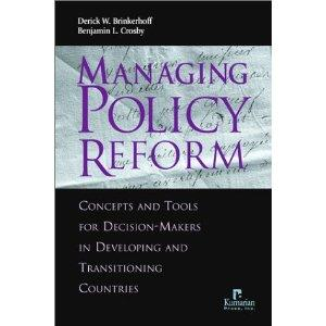 MANAGING POLICY REFORM: CONCEPTS AND TOOLS FOR ..........