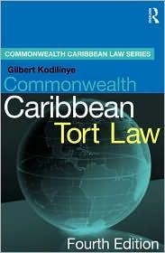 COMMONWEALTH CARIBBEAN TORT LAW - TEXT