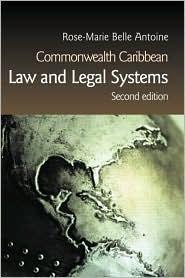 COMMONWEALTH CARIBBEAN LAW & LEGAL SYSTEMS