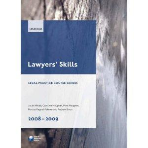 LAWYERS SKILLS: LEGAL PRACTICE COURSE GUIDE 2011-12
