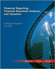 FINANCIAL REPORTING, FINANCIAL STATEMENT ANALYSIS & VALUATIO