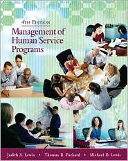 MANAGEMENT OF HUMAN SERVICE PROGRAMMES